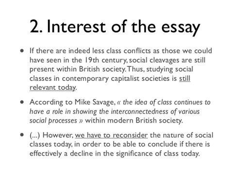Social Class In Australia Essay by Langlais Social Class Decline Essay Plansocial Class Decline Es