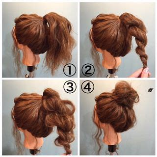 2 minute bubble bun hairstyle easy second day hair gallery how to do a bun hairstyle black hairstle picture