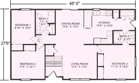 raised ranch floor plans raised ranch floor plans 1 320 to 1 352