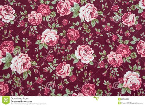 floral pattern vintage fabric fabric retro pattern with floral ornament stock photo