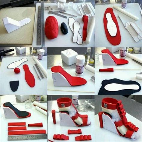 how to make shoes how to make a shoe gumpaste tutorials