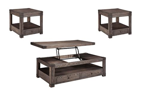furniture coffee table set furniture burladen 3pc coffee table set with