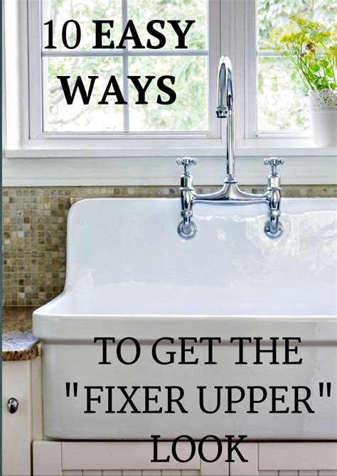 fixer upper decor 10 inexpensive ways to decorate and get the fixer upper
