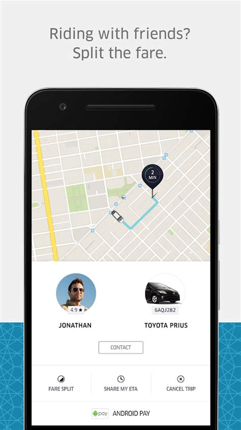 Play Store Uber Uber On The App Store Autos Post