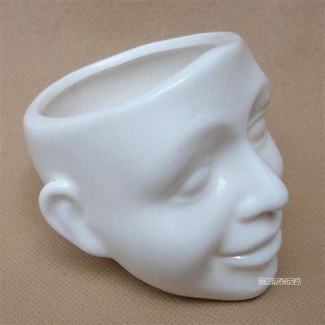 pot keramik tanaman gemuk pot bunga kartun  menarik