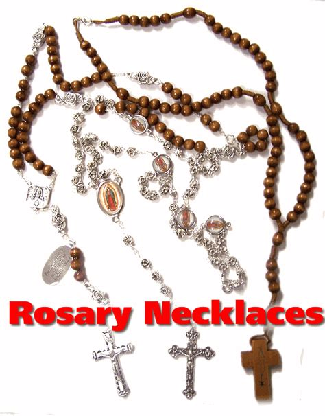 can you wear rosary as a necklace catholic rosary bead necklaces from italy with free rosary