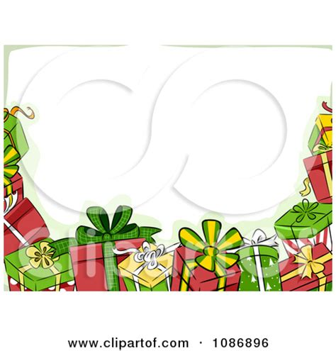 Clipart Border Of Gifts And present border clipart clipart panda free