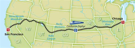amtrak california zephyr route map business done and heading home trains travel with jim