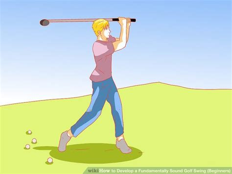 golf swing sound how to develop a fundamentally sound golf swing beginners