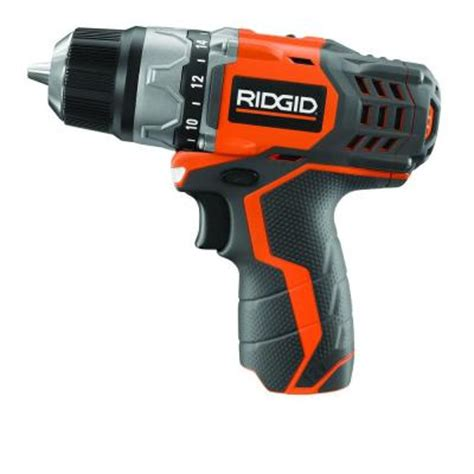 ridgid 12 volt compact cordless drill console tool only