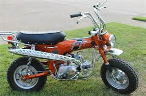 Honda Ct70 Restored Honda Ct70 1970 Photographs At Classic Bikes Restored Bikes Restored