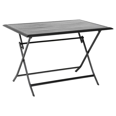 table de terrasse pliante table de terrasse pliante rectangulaire azua