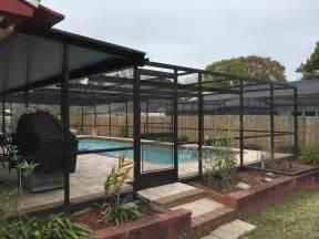 retractable patio enclosure system