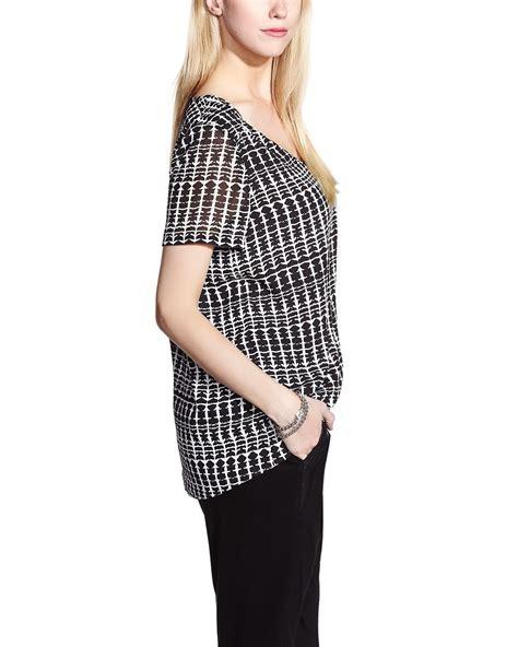 printed sleeve blouse reitmans