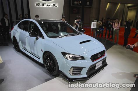 subaru india subaru wrx sti s208 limited edition at the tokyo motor