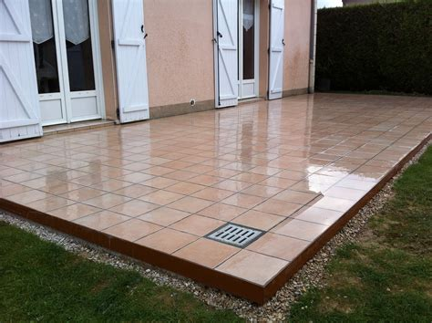 épaisseur D Une Dalle De Terrasse 3268 by Une Terrasse Balcon Et Des Escaliers D Pose De Carrelage