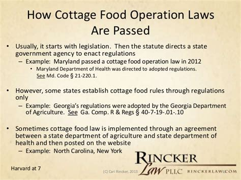 Cottage Food Operation by Lawline Counseling The Local Food Movement Part 1