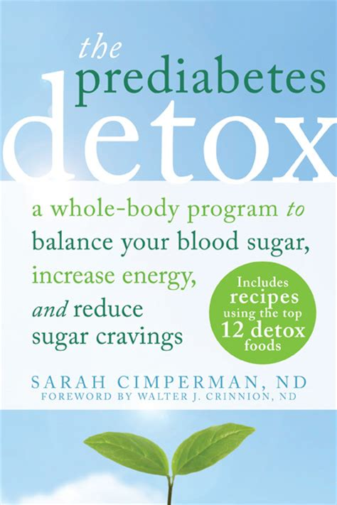 How To Detox Blood Sugar by Book Review The Prediabetes Detox Integral