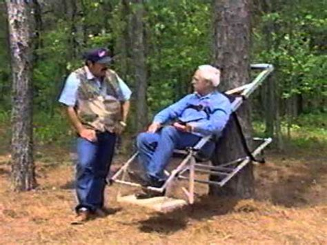 most comfortable deer stand the tree lounge advantage ii youtube