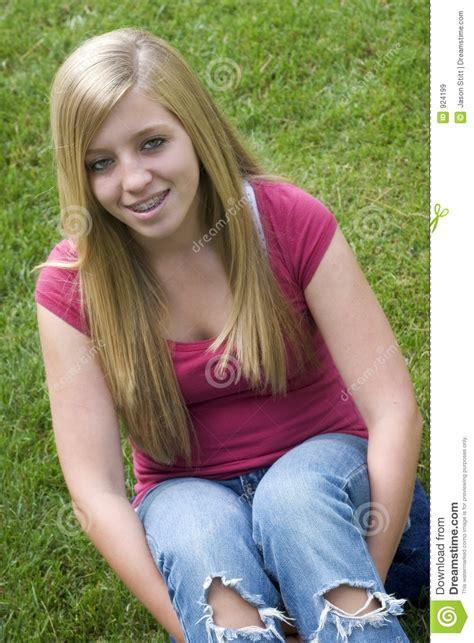 blonde teen blonde girl royalty free stock images image 924199