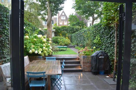 tuinen amsterdam stadstuin bij grachtenpand in amsterdam elmer van veen