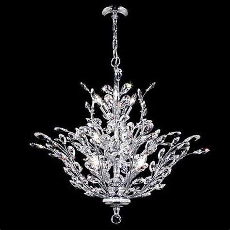 James Moder Chandelier James R Moder Florale Collection Silver Chandelier