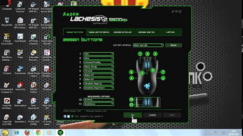 Mouse Razer Point Blank setting mouse macro razer untuk point blank