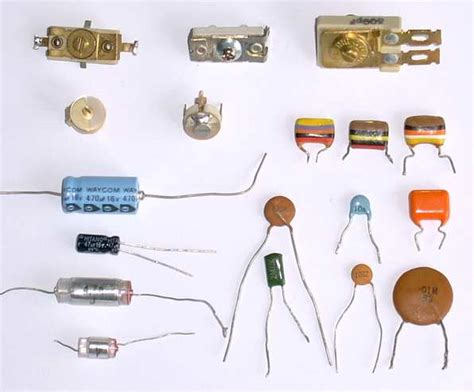capacitor types list types of capacitor and its characteristic