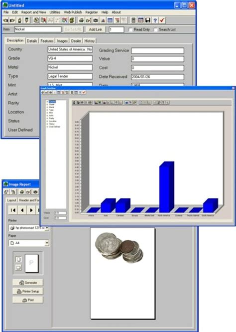 Baseball Card Inventory Template by Collect Coins Baseball Cards Inventory Software Cd Ebay