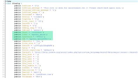 решение ошибок в Joomla как исправить ошибки подключения к базе данных центр поддержки Joomla Database Template
