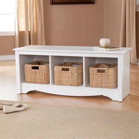 prepac monterey white cubbie bench pinterest the world s catalog of ideas
