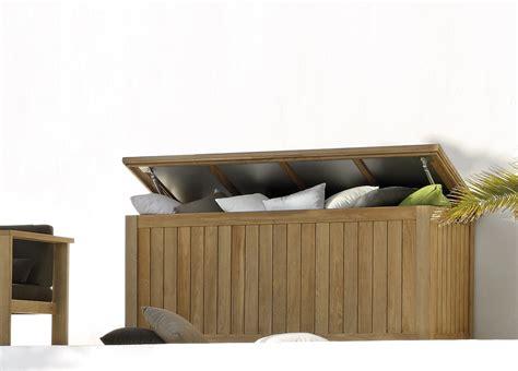Teak Outdoor Armchairs Manutti Siena Large Cushion Box Contemporary Garden