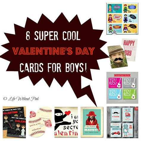 9 Cool To This Valentines Day by 8 Cool Valentines Day Cards For Boys S