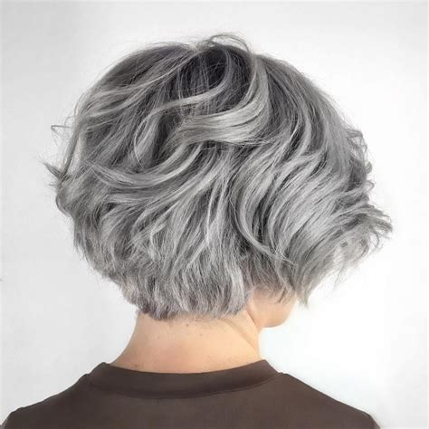 how to style fine but thick gray hair 50 cute and easy to style short layered hairstyles