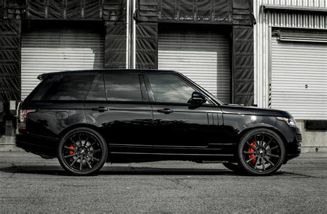 range rover car black range rover all black everything motors pinterest