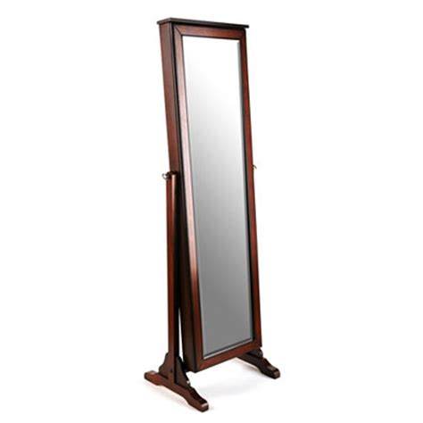 kirklands jewelry armoire kirklands cherry jewelry mirror armoire customer reviews