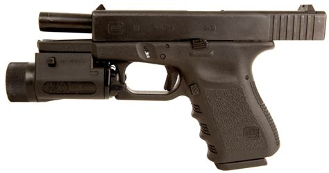 Glock 19 Light by Deactivated Glock 19 Semi Automatic With Tactical Light