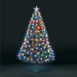 tesco tree lights buy 6ft superstar green fibre optic led tree