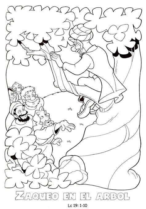 imagenes de jesus y zaqueo para colorear 22 best images about zaqueo on pinterest
