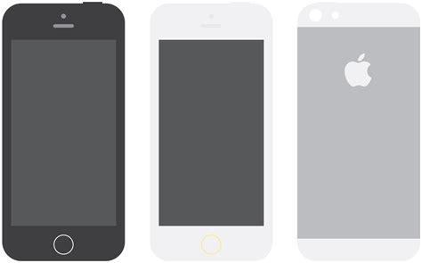 iphone layout vector apple iphone 5s flat design mockups psd mockups