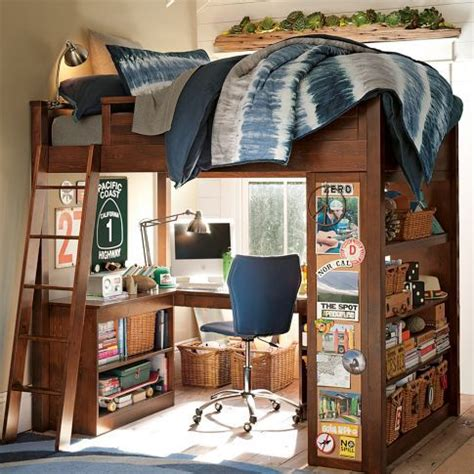 Bedroom Furniture Boys Best 25 Bunk Bed Desk Ideas On Pinterest Bunk Bed With Desk Loft Bed Desk And Bed With Desk