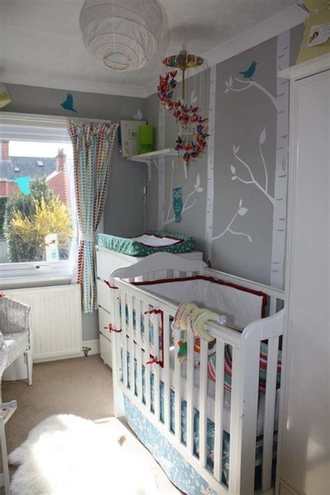kleines kinderzimmer gestalten graue nuancen ideen kleines babyzimmer gestalten