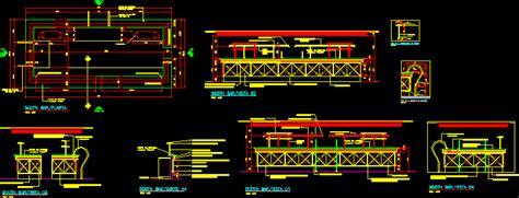 details  scotch bar  dwg details  autocad designs cad