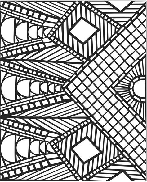 roman mosaics colouring pages