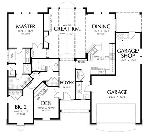 2 Bedroom Luxury House Plans by Luxury House Design Two Bedrooms Spacious Garage Square