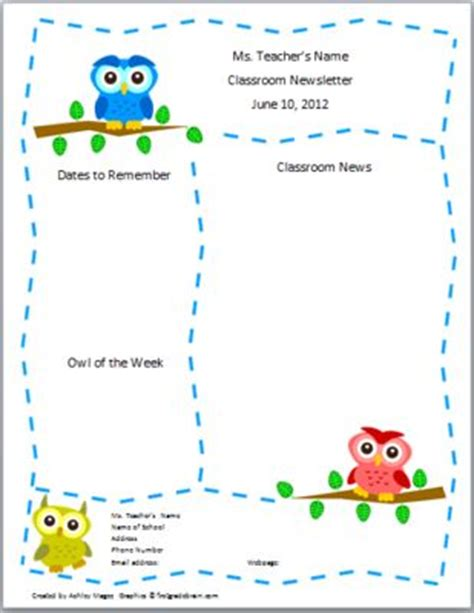 25 Best Ideas About Preschool Newsletter On Pinterest Kindergarten Parent Letters Preschool Templates For Teachers