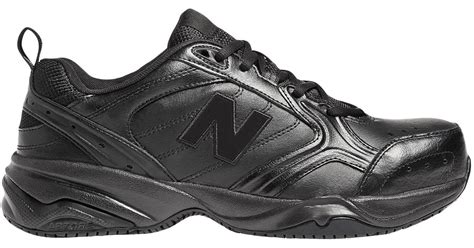 Sepatu Safety New Balance 627 new balance steel toe 627 leather in black for lyst