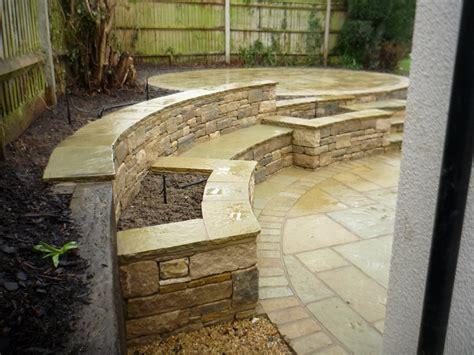 circular garden plans circular indian stone patio design indian stone patio design and build landscape garden