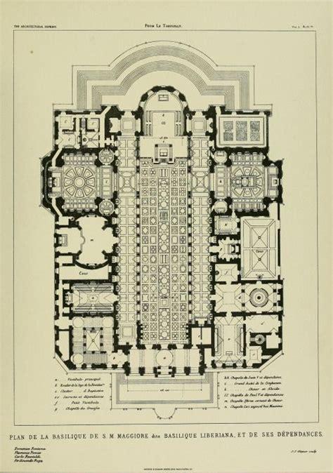 basilica floor plan floor plan of the basilica di santa maria maggiore rome