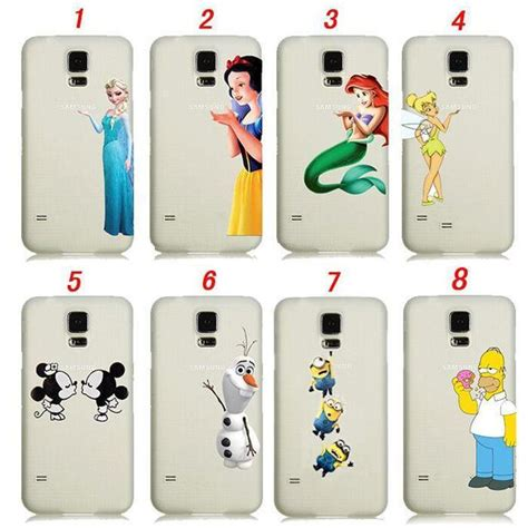 Sale Minion Despicable Me For Galaxy S5 Tipe B for samsung galaxy s4 s5 s6 snow white mermaid ariel